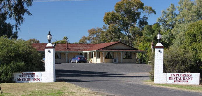 Burke and Wills Motor Inn - Moree - Foster Accommodation
