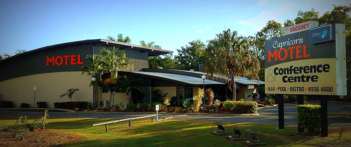 Capricorn Motel  Conference Centre - Foster Accommodation