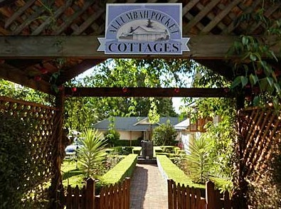 Allumbah Pocket Cottages - Foster Accommodation