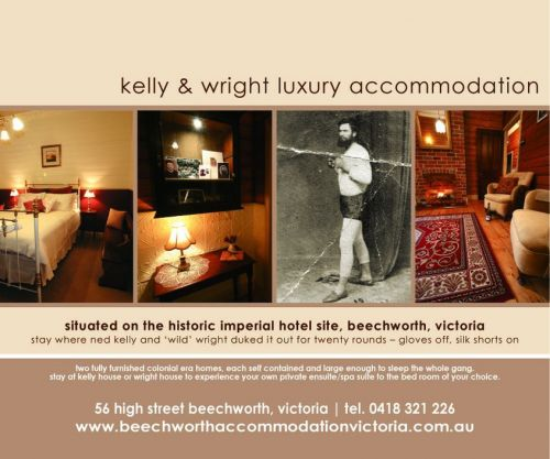 Beechworth Accommodation Victoria - Foster Accommodation
