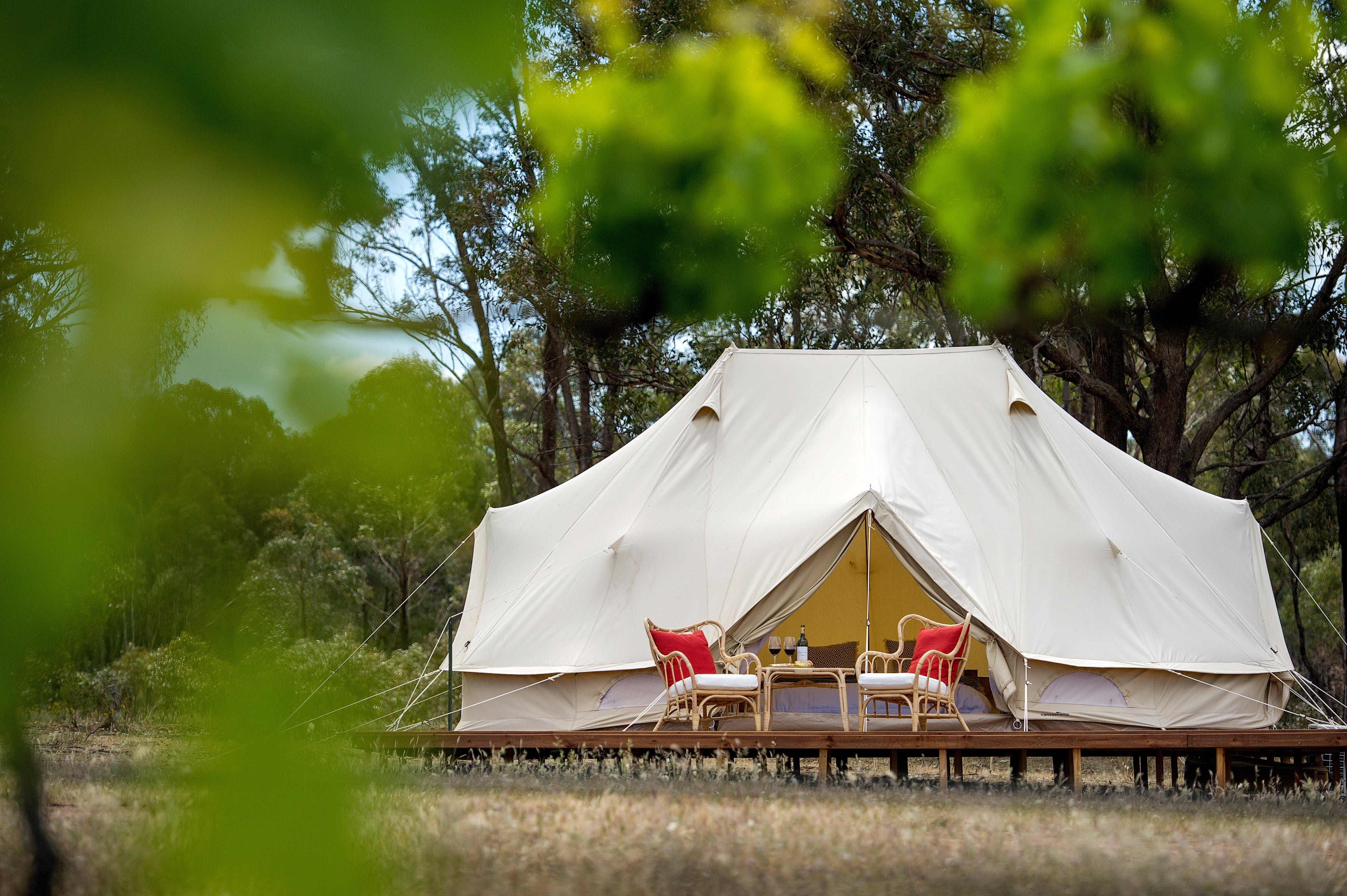 Balgownie Estate Winery Glamping  Accommodation - Foster Accommodation