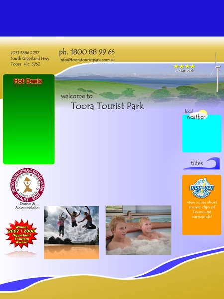 Toora Tourist Park - Foster Accommodation