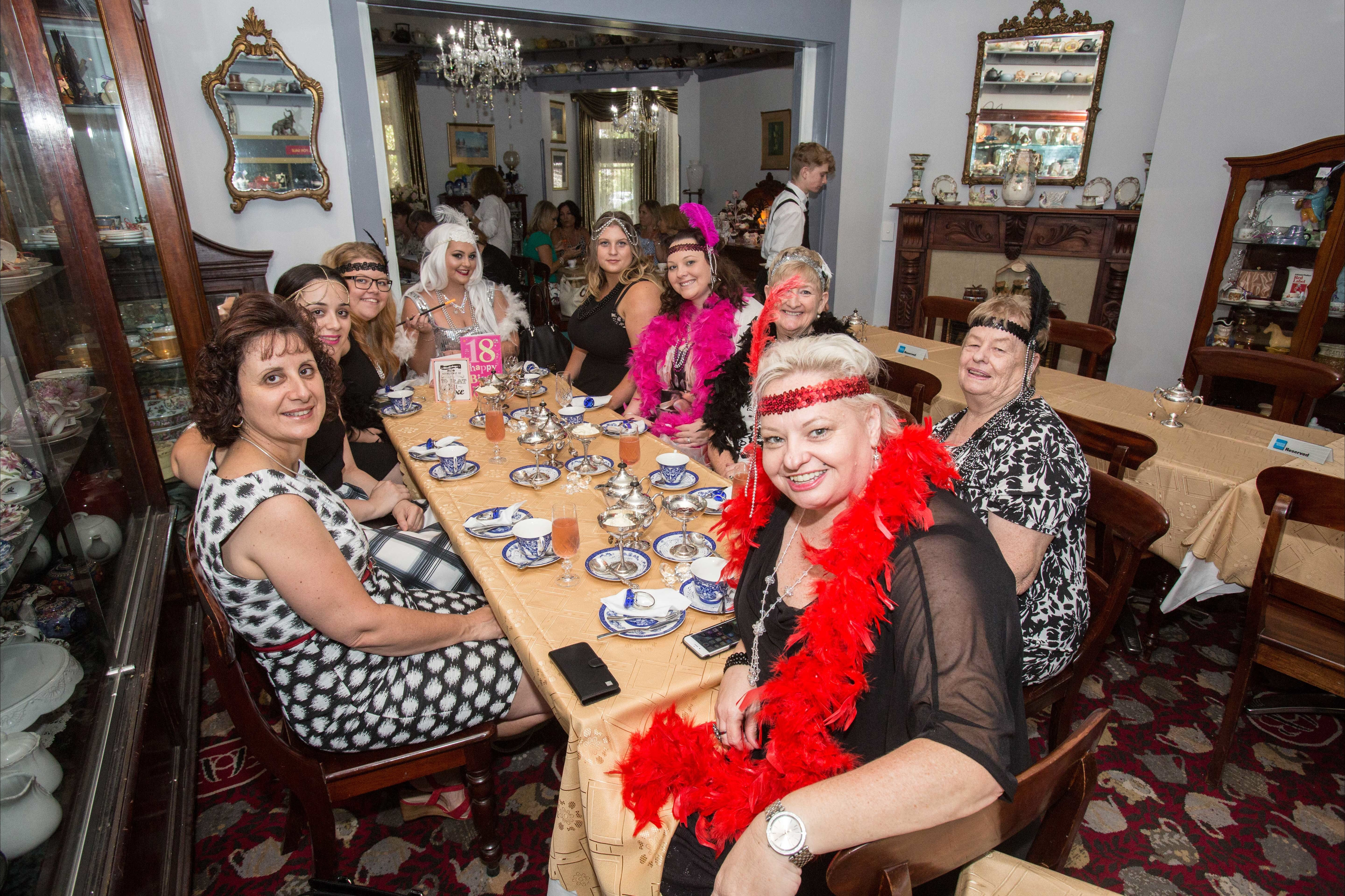 Bygone Beauty's Traditional High Tea Supreme for Good Food Month. - Foster Accommodation
