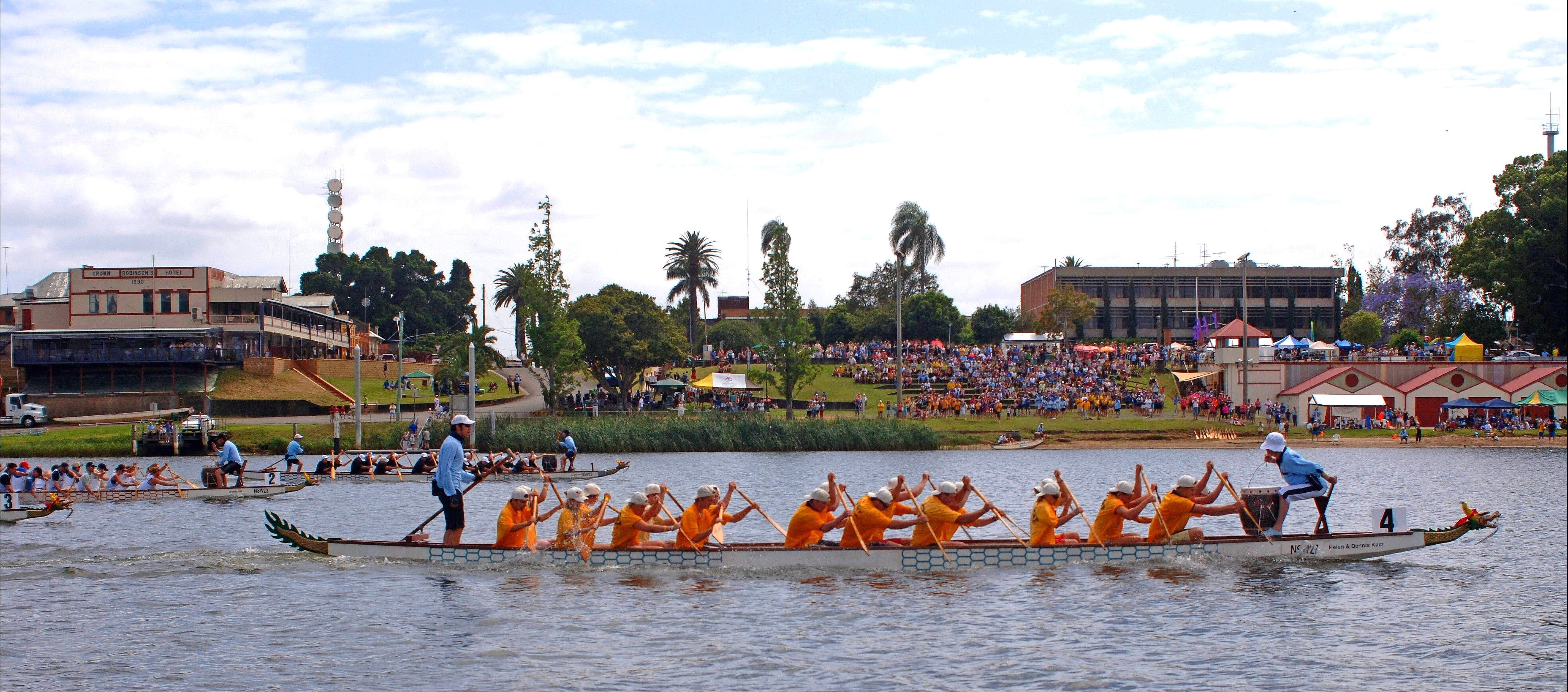 Jacaranda Dragon Boat Races - Foster Accommodation