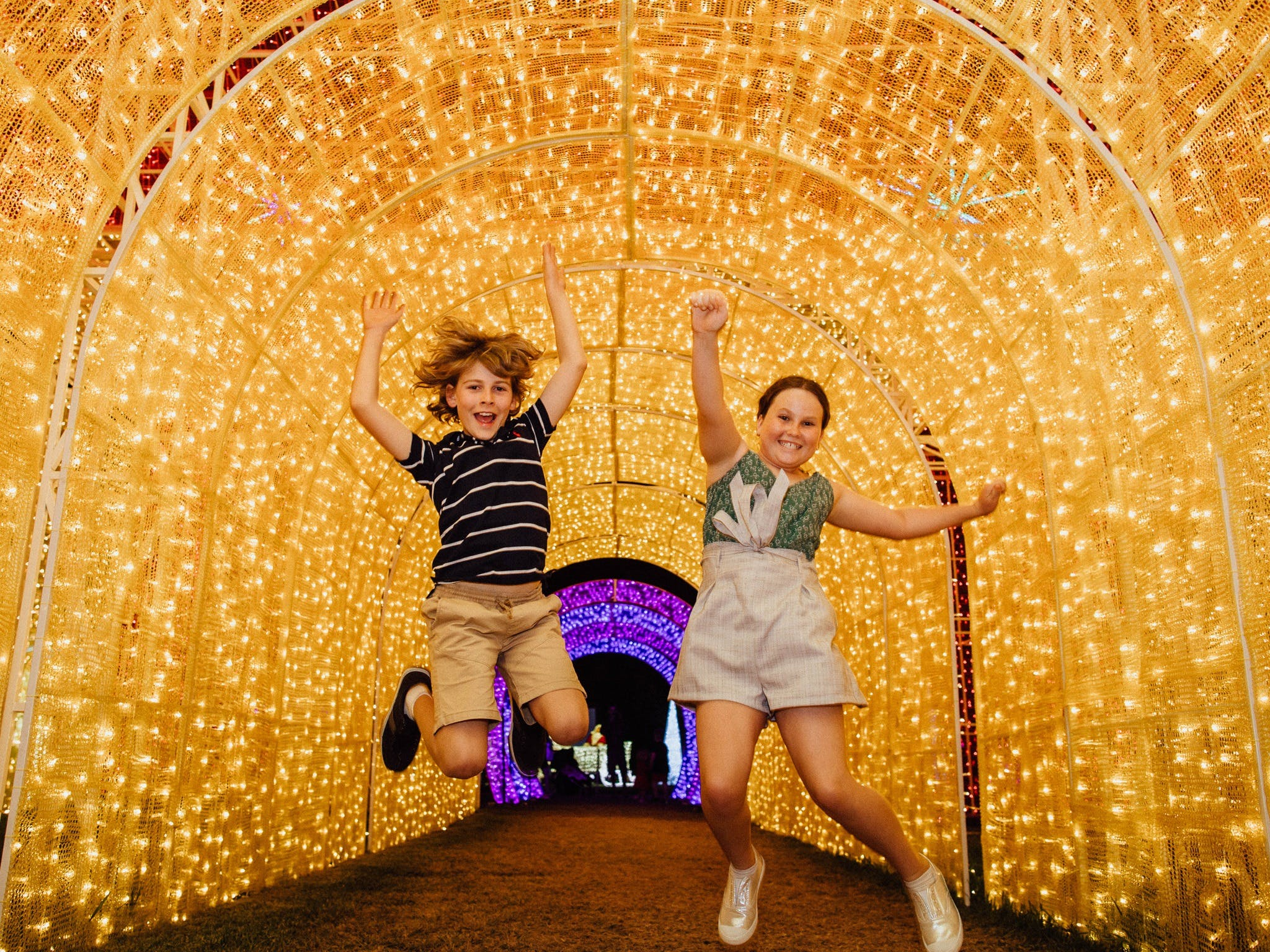 Christmas Lights Spectacular New Year's Eve at Hunter Valley Gardens - Foster Accommodation