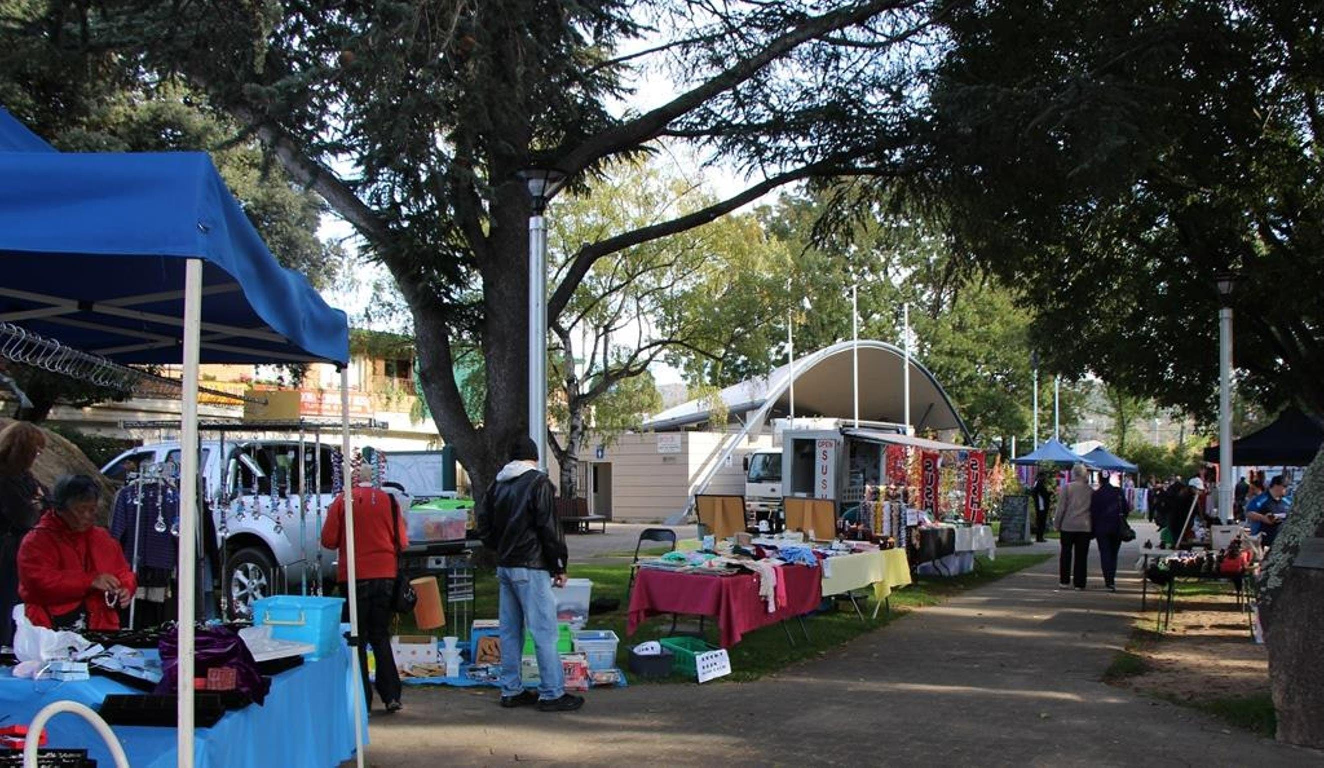 Cooma Rotary Markets - Foster Accommodation