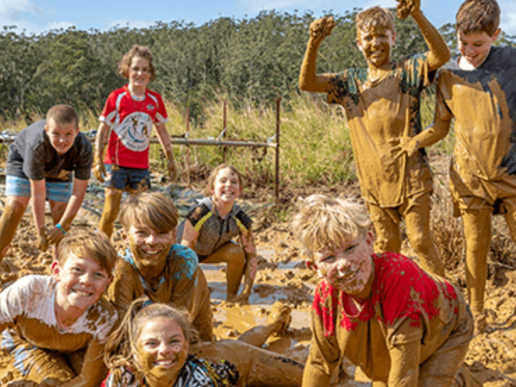 Mini Muddies Obstacle Challenge at Bunnamagoo Estate - Foster Accommodation