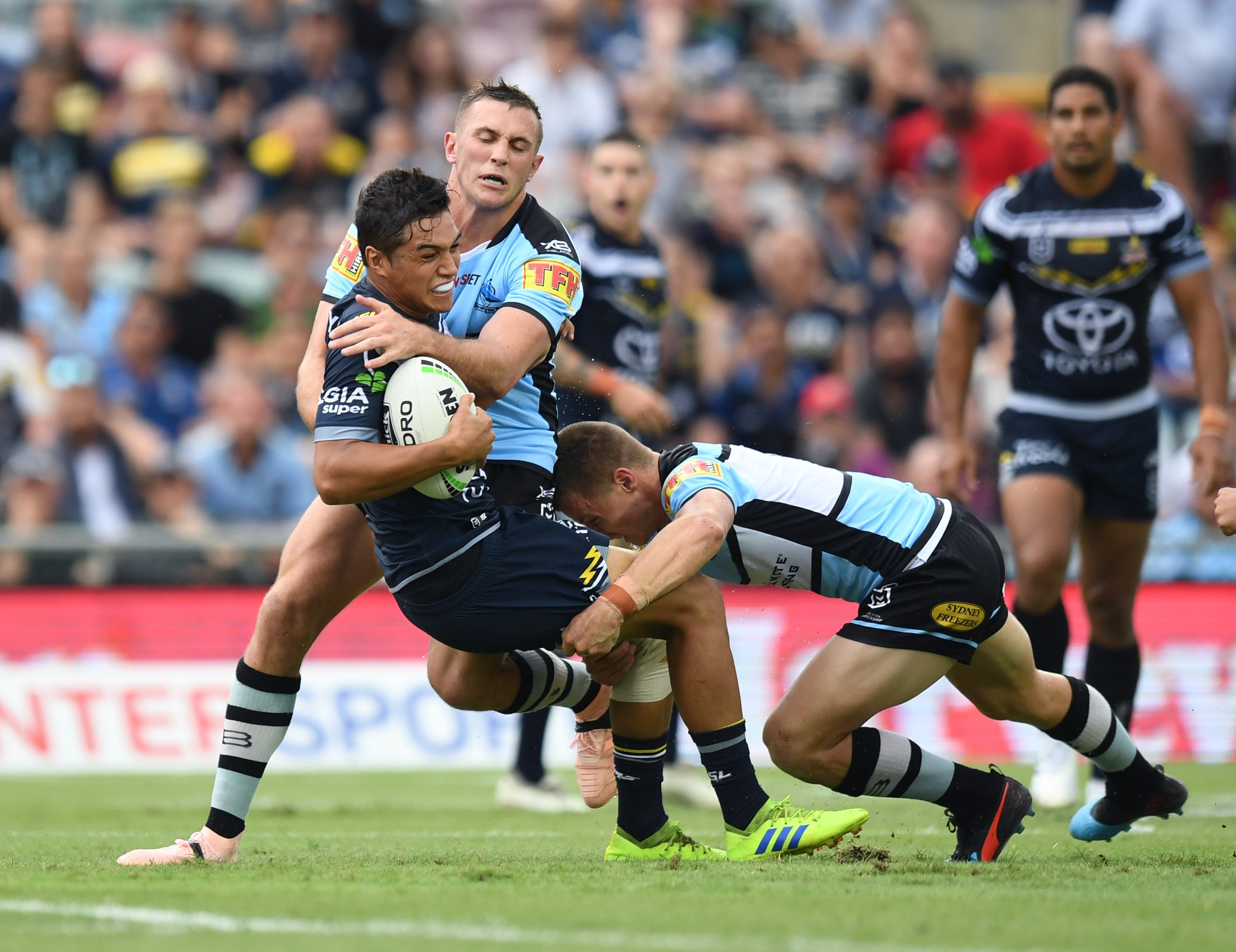 North Queensland Toyota Cowboys versus Cronulla Sharks - Foster Accommodation