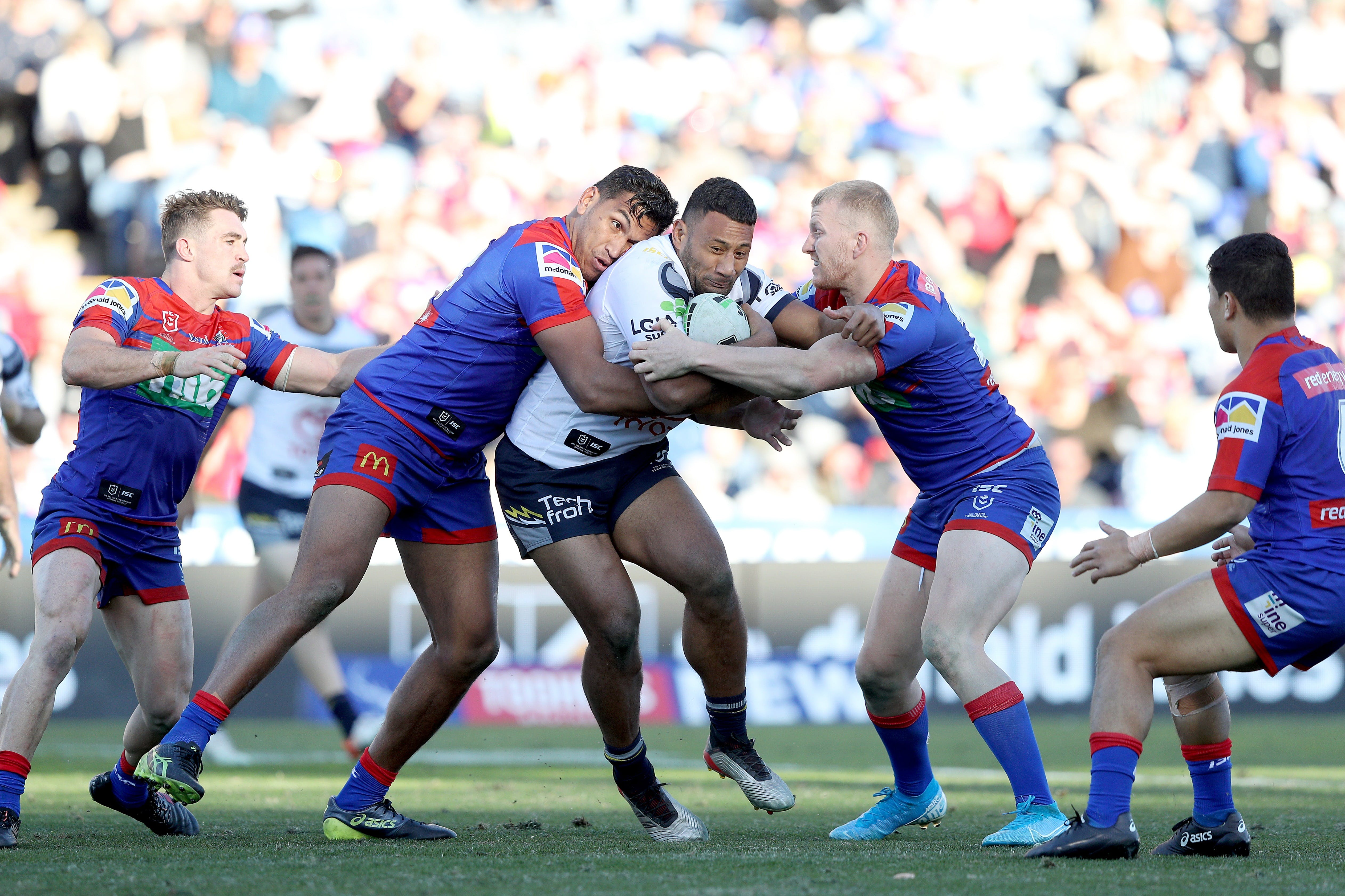 North Queensland Toyota Cowboys versus Newcastle Knights - Foster Accommodation