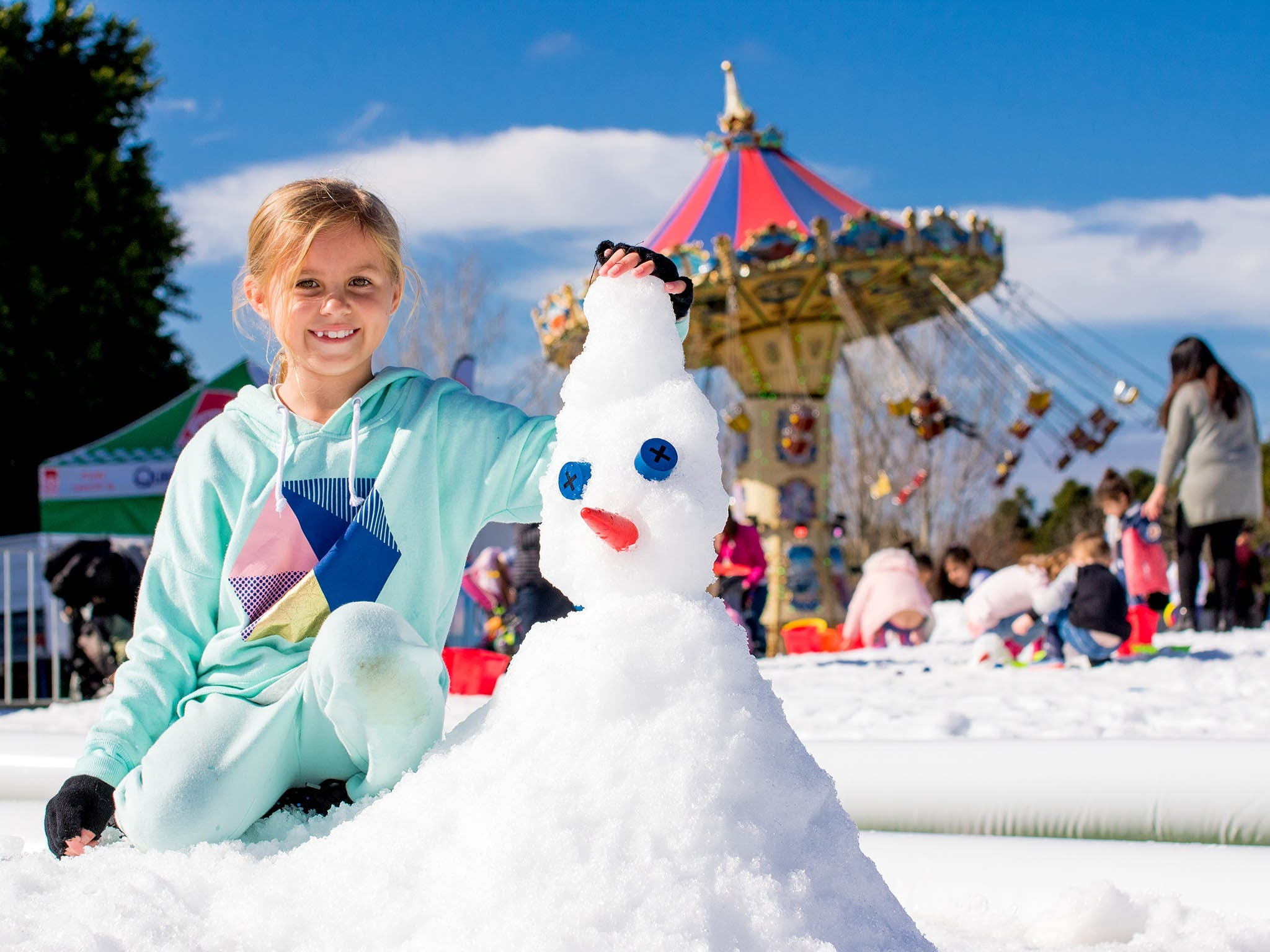 Snow Time in the Garden - Hunter Valley Gardens - Cancelled - Foster Accommodation