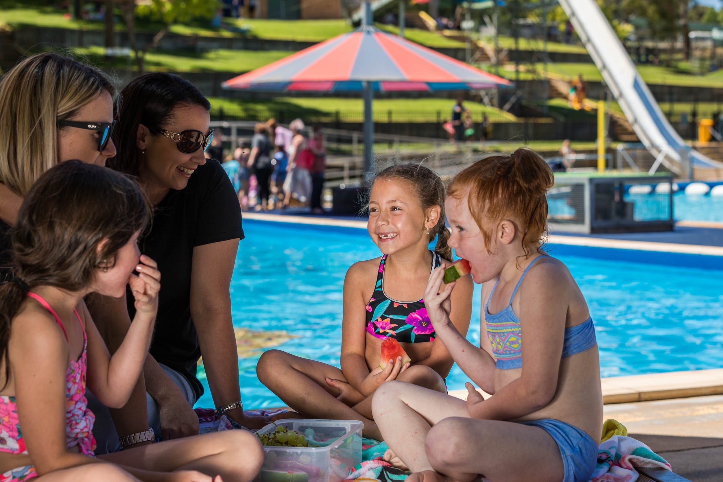 Australia Day fun at Lake Talbot Water Park - Foster Accommodation